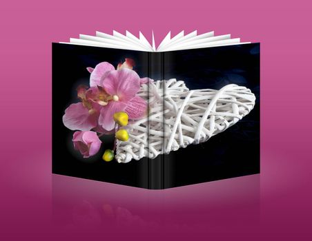 book of heart for wedding,Valentine's, mother and women day