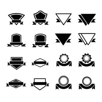 Design Label vector 16 item