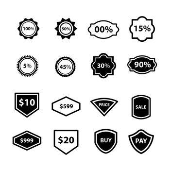 Label Design vector 16 item