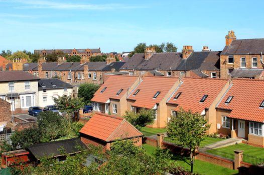 Modern housing estate in Scarborough