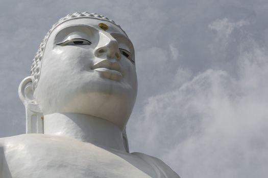 Bahirawakanda Sri Maha Bodhi temple in Kandy, Sri Lanka. The tem