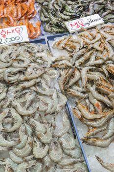 Noryangjin Fisheries Wholesale Market The 24 hour market has ove