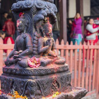 Bodhnath stupa in Kathmandu, Nepal.