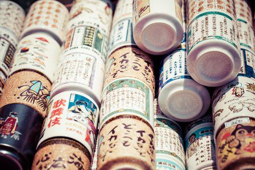 Asian ceramics tea cups set