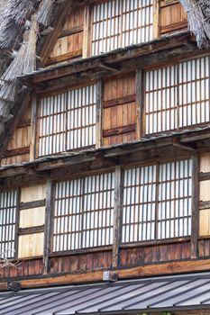 Traditional and Historical Japanese village Ogimachi - Shirakawa-go, Japan