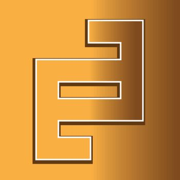 Golden Geometric Abstract Sign AI 8 supported.