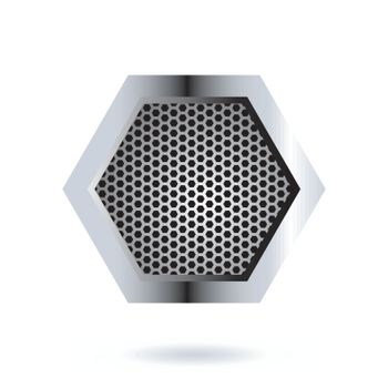 Perforated Hexagon