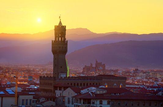 Plazzo Vecchio tower