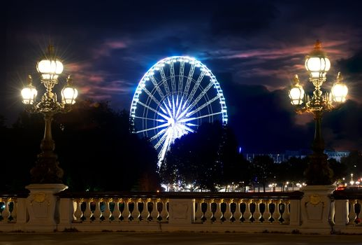 View on Ferris Wheel