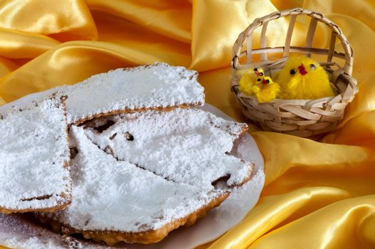 Italian fried sweets for Carnival and Easter