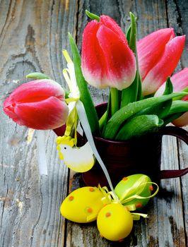 Easter Flower Theme