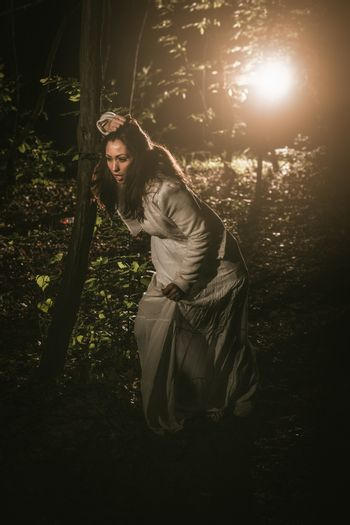 Lost Girl In The Forest