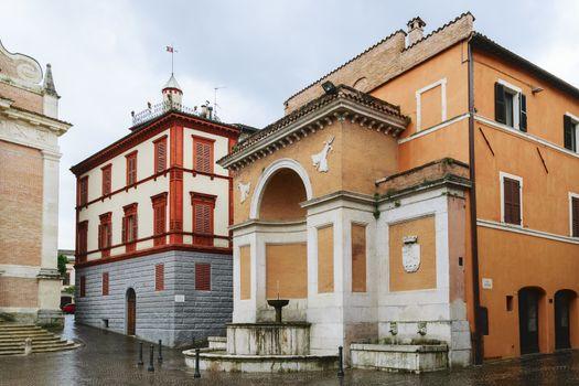 Historical architecture in Fabriano