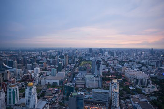View of Bangkok City Thailand