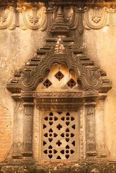Door temples in Bagan, Myanmar