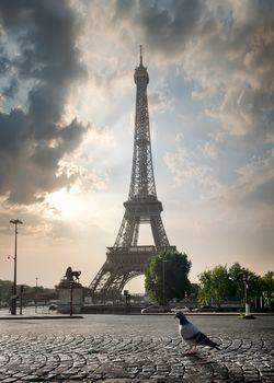 Overcast in Paris