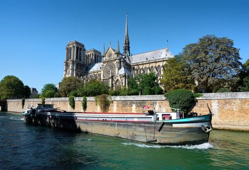 View on Notre Dame