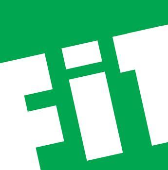 Fit Typography Design
