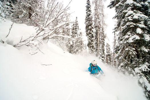 Freeride in Siberia