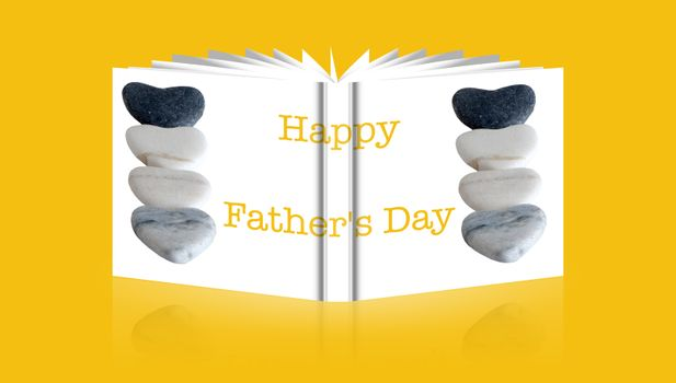 book of handmade card for a  Father's Day