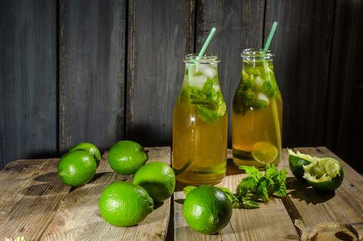 Lime lemonade syrup