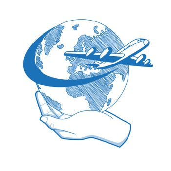 Planet Travel Logo