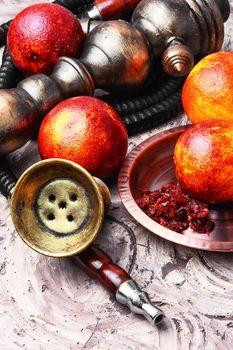 hookah with orange taste