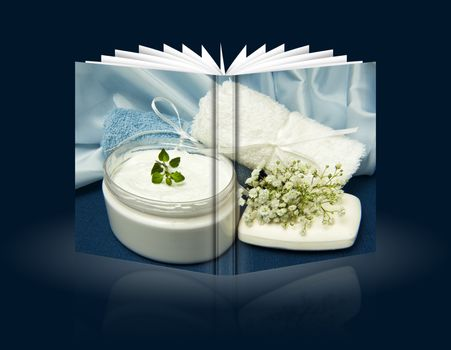 book of Biological and ecological home made cosmetics
