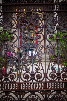 Ornamental classical forged gates