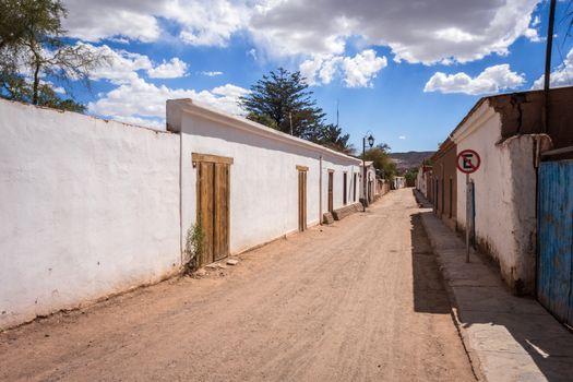 Street in San Pedro de Atacama, Chile