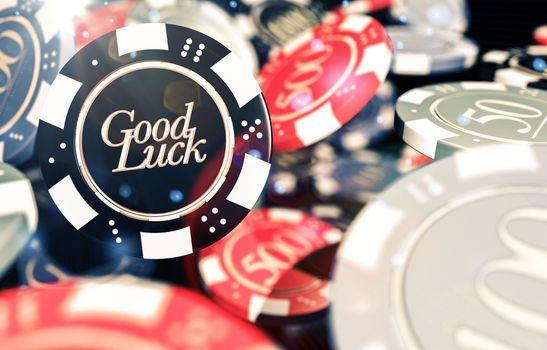 Good Luck Casino Chips