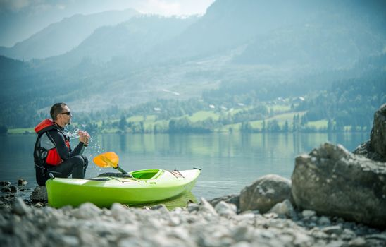 Recreational Lake Kayaking