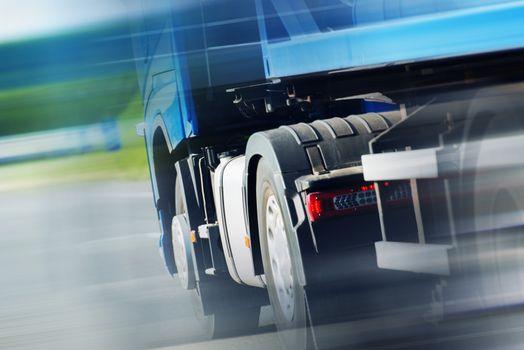 Semi Truck Spedition