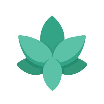 Flat Icon FlaAlternative medicine icon