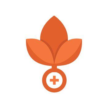 Flat Icon Medical Alternative logo and icons