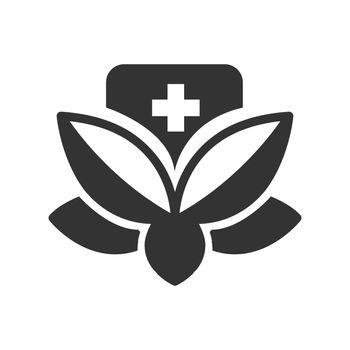 Bold Icon Alternative medicine icon
