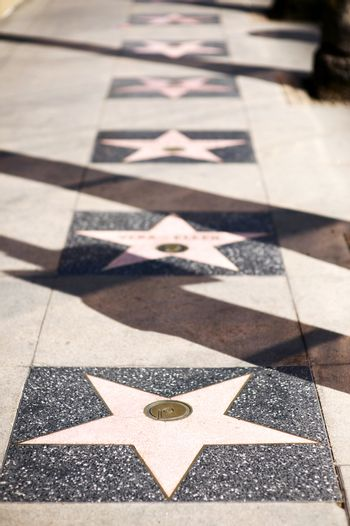 Stars Alley Hollywood