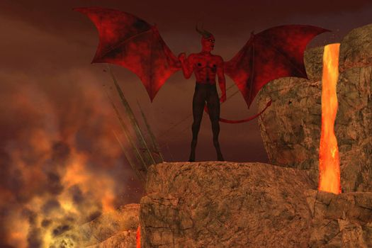 The Devil is considered to be a creature of myth and religious folklore and the enemy of God.