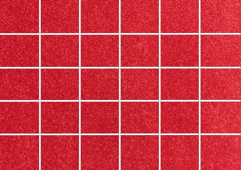 Red Tiles. Seamless Tileable Texture.