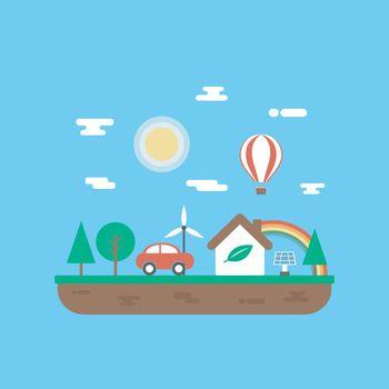 ecology island