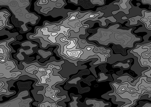 Repetitive Map Texture - Seamless Pattern Background Illustration, Vector