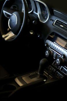 Car Interior Vertical