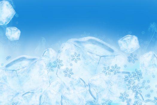 Icy Ice Background