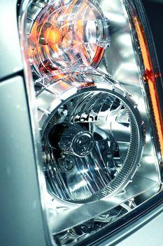 Modern Lens Car Headlight