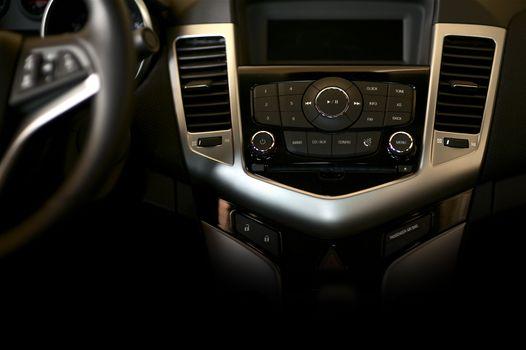 Dark Car Dashboard