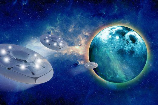 Aliens Spacecrafts