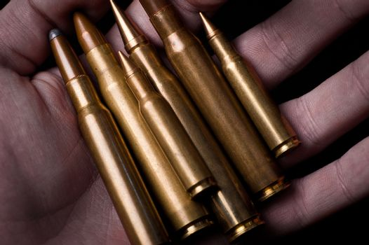 Bullets in Hand