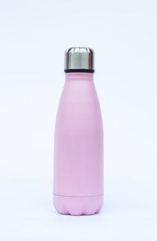 Warm bottle isolated on white background, stock photo