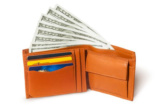 Dollars in the wallet