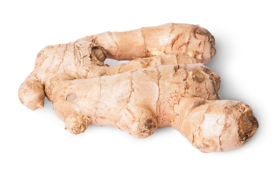 Entire ginger root